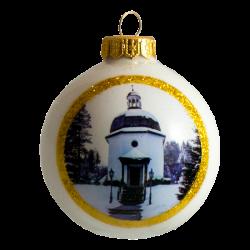 Christmas ornament white