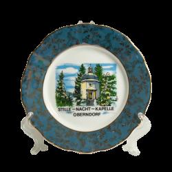Decorative plate blue