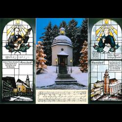 Postcard chapel - windows