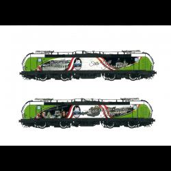 Postcard locomotive