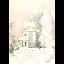Watercolourcard Chapel FR