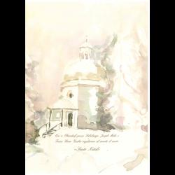 Watercolourcard Chapel IT
