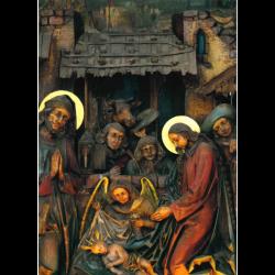 Postcard altar picture
