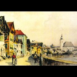 Postcard old Oberndorf