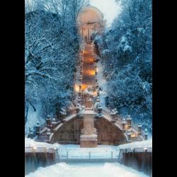 Postcard Kalvarienberg