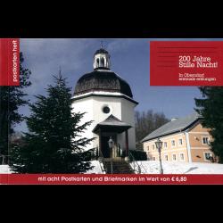 Postcard booklet - stamps