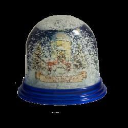 Snow globe chapel