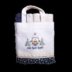 Bag + 2 Towels blue
